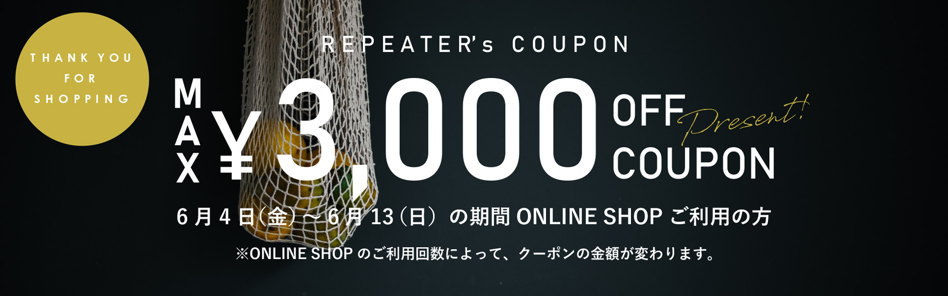 REPEATER COUPON